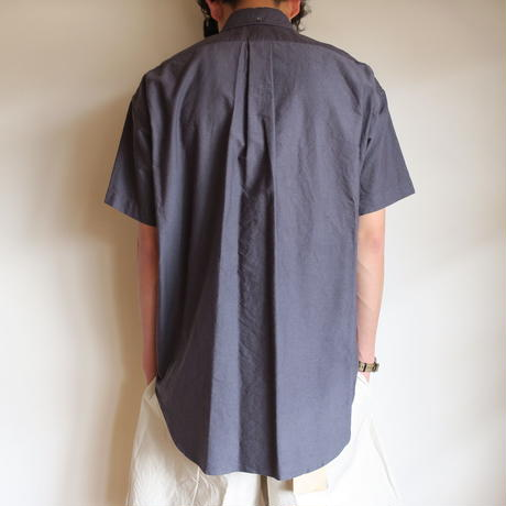 Graphpaper MEN Oxford S/S B.D Box Shirt 4colors
