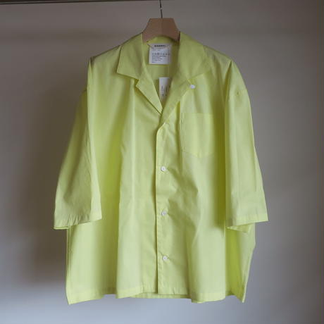 DIGAWEL CAMP COLLAR S/S SHIRT 3colors