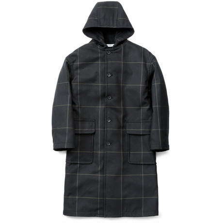 Graphpaper MEN Original Pane Hooded Coat 2colors GM193-10054
