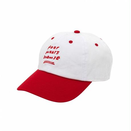 PMD Baseball Low Cap Two Tone 2colors