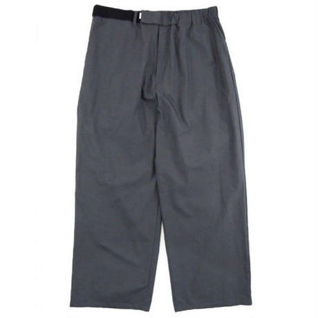 Graphpaper MEN Typewriter Wide Cook Pants 2colors GM191-40021B