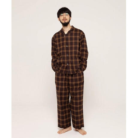 NOWHAW day pajama flannel check  2colors