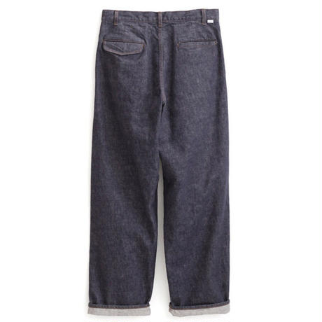 Graphpaper MEN Colorfast Denim 2 Tucks Pants