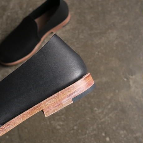 STYLE CRAFT SLIP ON OIL LEATHER UNISEX BLACK