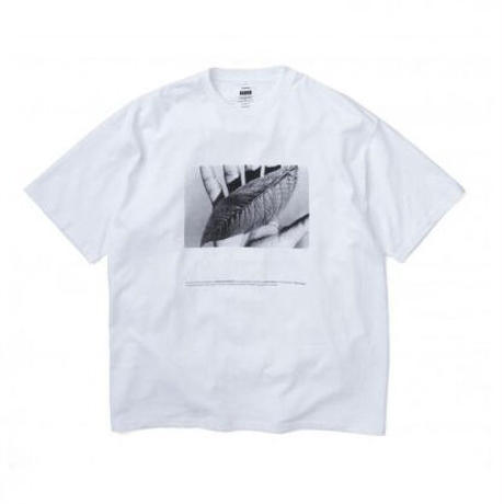 "POET MEETS DUBWISE for Graphpaper Oversized Tee ""WORDS AND SILENCE"" 2colors"