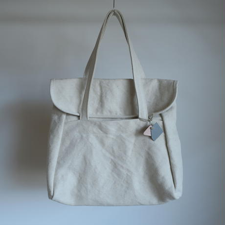 STUFF flap tote SIZE No.2  2colors