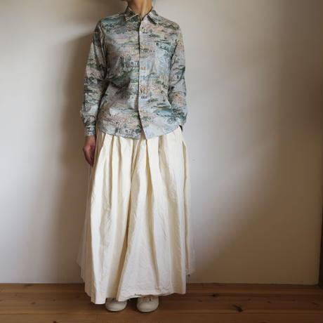 YAECA WRITE WOMEN ボタンシャツ STORY ISLAND 91103