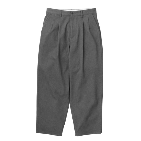 Graphpaper MEN Hard Twill Two Tuck Pants 2colors