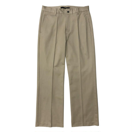 KICS DOCUMENT / KHONOROGICA SHOECUT PANTS BEIGE