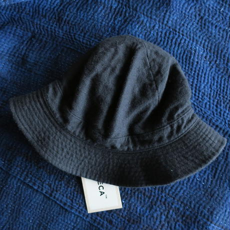 YAECA HAT HIGH WOOL LINEN 2colors