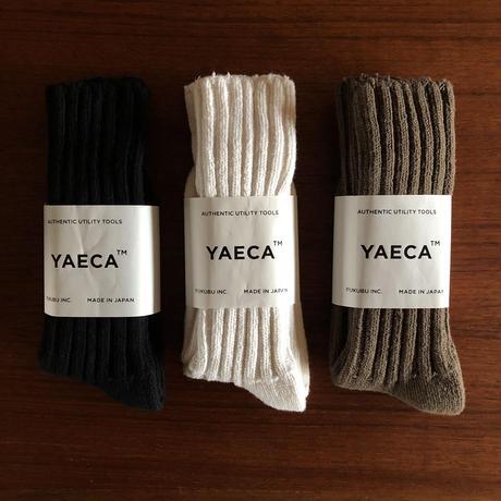 YAECA COTTON SILK SOCKS - LONG 3colors
