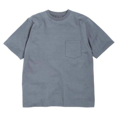 Graphpaper MEN S/S Pocket Tee C.GRAY GU191-70055GB