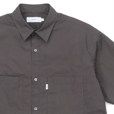 Graphpaper MEN Stretch Typewriter L/S Box Shirt 3colors GM201-50080B