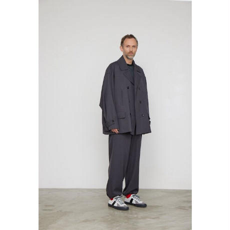 Graphpaper MEN Wool Kersey Track Pants 2colors GM213-40217