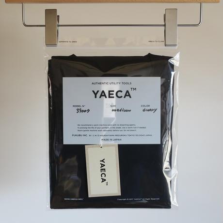 YAECA MEN  DRY-TOUCH CREW NECK TEE NAVY 39007 39040