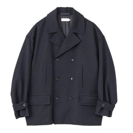 Graphpaper MEN Wool Kersey Pea Coat 2colors GM213-10215