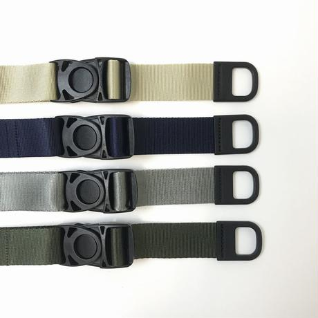 "Be prepared  ""Snake Bite"" Belt Gray"