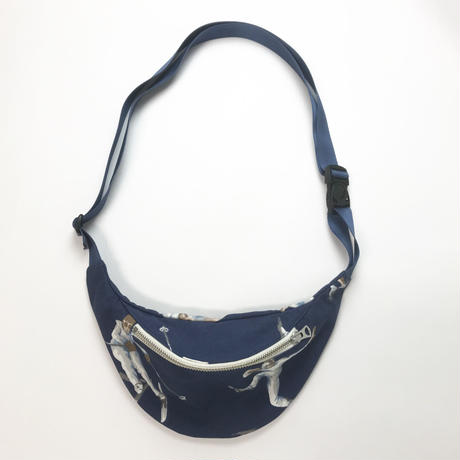 "Be prepared  ""old memories""  Waist Bag  SPORTS NOVELTY ""C"""