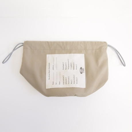 "Be prepared ""PROTECTION"" The Scout Basic Essentials 2WAY Bag  Beige"