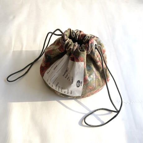 "Be prepared ""old memories"" PROTECTION The Scout Basic Essentials Bag  FLORAL ANTIQUE   BROWN  02"
