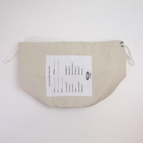 """Be prepared """"PROTECTION"""" The Scout Basic Essentials  2wayBag  off white"""