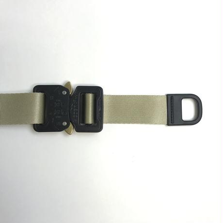 "Be prepared  Overspec ""Snake Bite"" Belt  Beige"