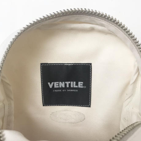 "Be prepared ""old memories"" tiny Shoulder  Bag Ventile  off white"