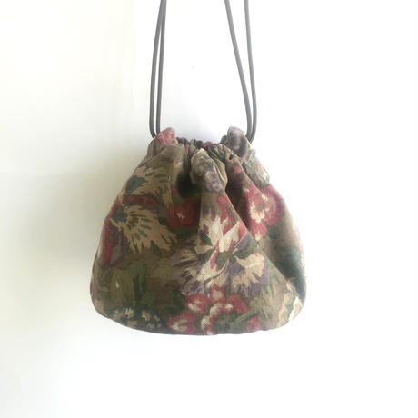 """Be prepared """"old memories"""" PROTECTION The Scout Basic Essentials Bag  FLORAL ANTIQUE   BROWN"""