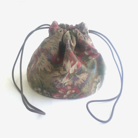 "Be prepared ""old memories"" PROTECTION The Scout Basic Essentials Bag  FLORAL ANTIQUE   BROWN"