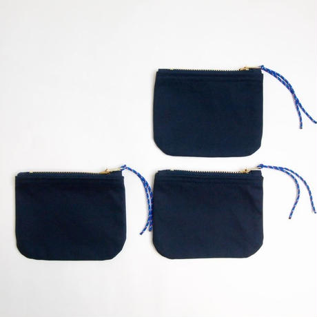 "Be prepared ""old memories"" pouch Size S VENTILE NAVY"