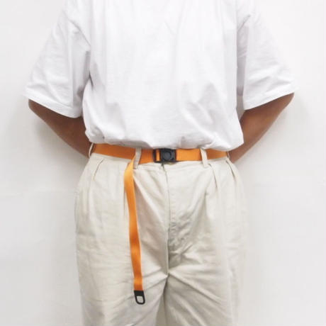 "Be prepared  ""Snake Bite"" Belt Orange"