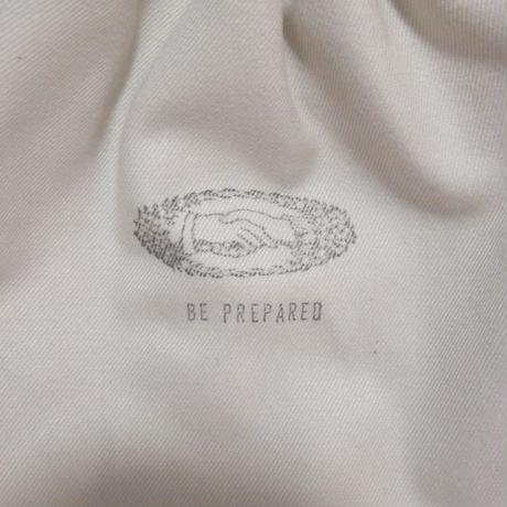 """Be prepared """"By your side"""" Key case   off white"""
