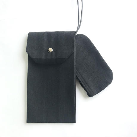 """Be prepared """"Simple things"""" multi case charcoal SIZE S"""