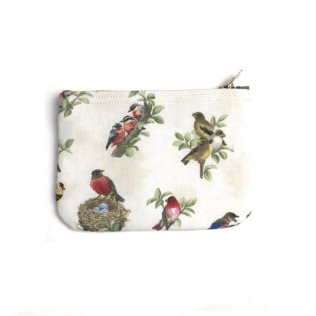 "Be prepared ""old memories"" pouch Size M  Beaitiful Birds  ""B"""