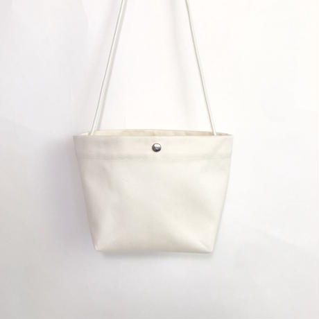 "Be prepared ""Sunshowers"" Shoulder  Bag  off white"