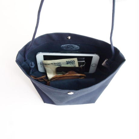 "Be prepared ""Sunshowers"" Shoulder  Bag  navy"