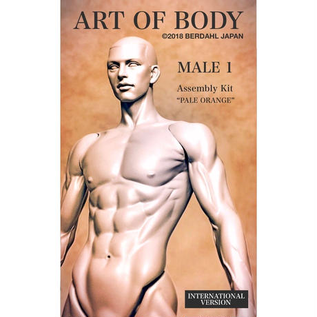 ART OF BODY MALE1(Assembly kit)color:PALEORANGE [INTERNATIONAL VERSION]