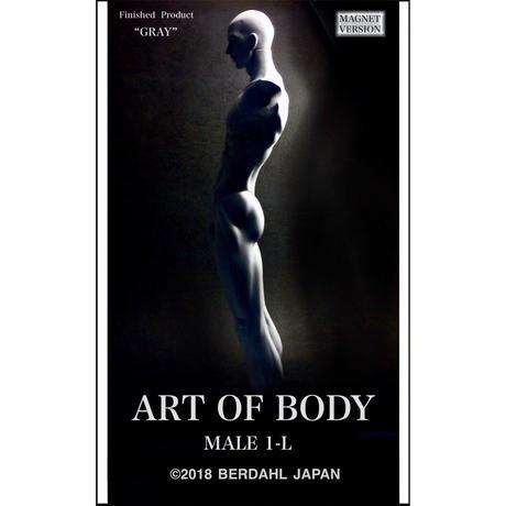 ART OF BODY MALE1-L(完成品)色:グレー [マグネット版]※Japan only