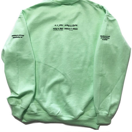"hEaLtHibOyZ ""Earth of the lost cotton"" sweat shirts"