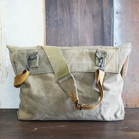 Vtg Canvas Shoulder Bag