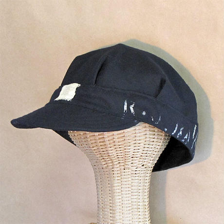 Vtg U.S.N. Wool Engineer Cap