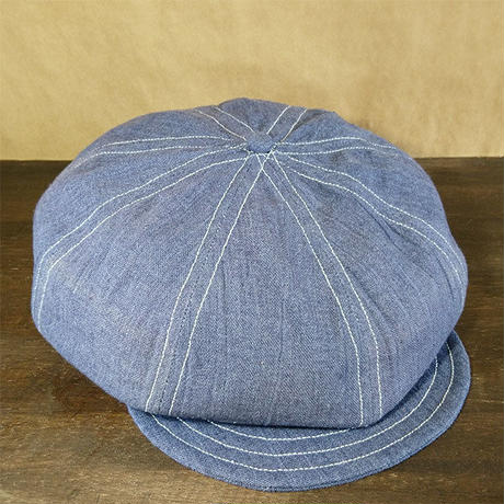 Vtg BlueGray Newsboy Cap