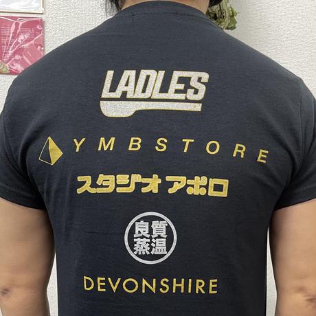 限定 サウナランド フェス 良質蒸温 印刷 オリジナル Tシャツ 各サイズ 黒 送料無料