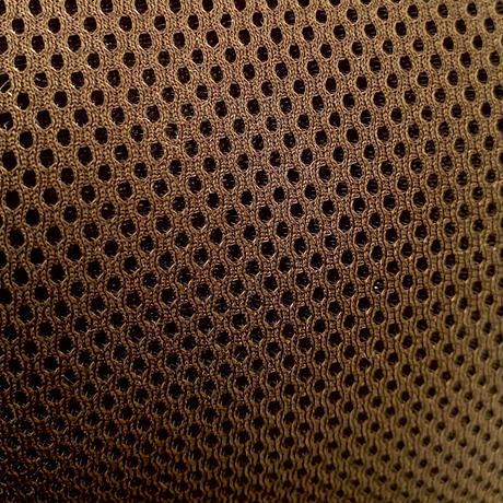 3重構造 ポリエステル・メッシュ素材 大サイズ! ダーク ブラウン サウナハット ハンドメイド オリジナル商品 男女兼用 ゆったり