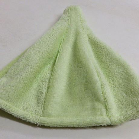 ヴィヒタ刺繍 ライトグリーン色 サウナを愛でたい 黄緑 送料 無料 サウナ ハット 新品 タオル地 コットン 洗える Sauna Hat サ道 サウナイキタイ 男女兼用