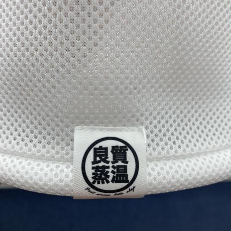 S サイズ ホワイト ✅3層構造 ポリエステル・メッシュ素材 サウナハット ハンドメイド オリジナル商品 男女兼用 ゆったり