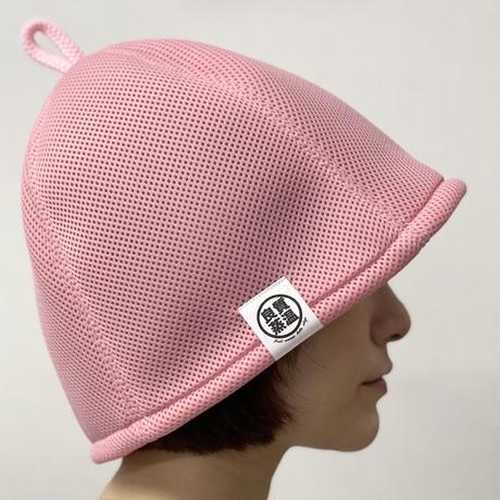 M サイズ & S サイズ ピンク ✅3層構造 ポリエステル・メッシュ素材 サウナハット ハンドメイド オリジナル商品 男女兼用 ゆったり