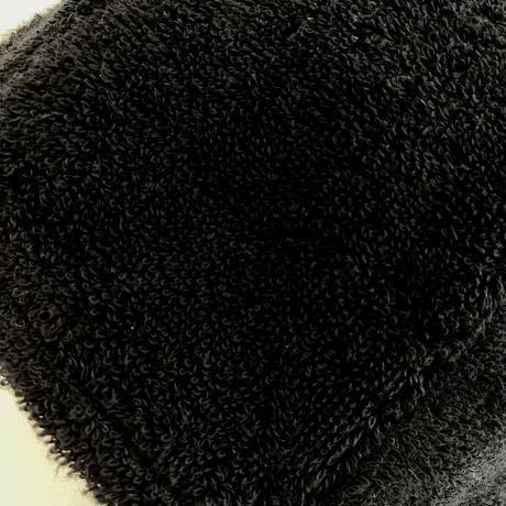 黒 完全 別注品 イケメン蒸し男君  送料 無料 サウナ ハット 新品 タオル地 コットン 洗える Sauna Hat サ道 サウナイキタイ 男女兼用