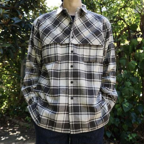 relax mackinaw shirts jacket - CHECK NEL BEIGE
