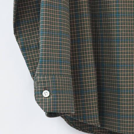 five tuck shirts-GREEN